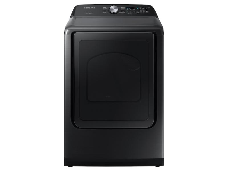 Samsung7.4 Cu. Ft. Capacity Electric Dryer With Sensor Dry In Brushed Black