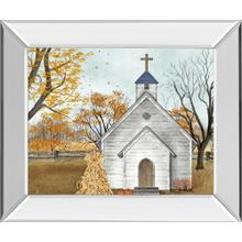 """Blessed Assurance"" By Billy Jacobs Mirror Framed Print Wall Art"