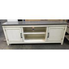 TV Stand - White & Grey