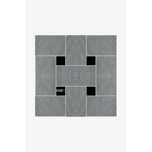 Luminaire 7.5cm x 15cm Basketweave Mosaic in Rosso Laguna