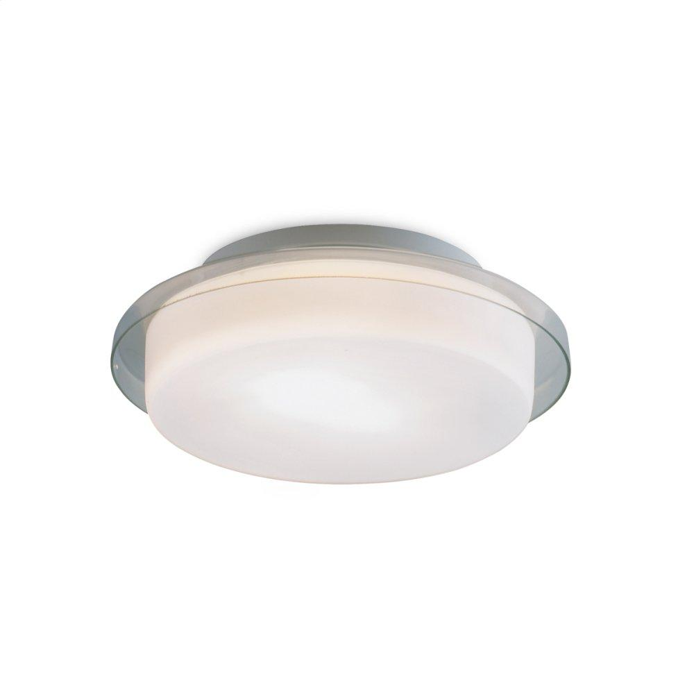 """See Details - 9"""" CEILING MOUNT - Clear Glass"""