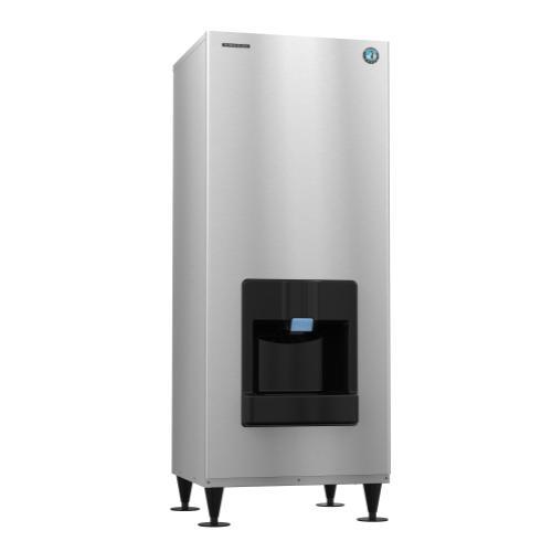 DKM-500BWJ, Crescent Cuber Icemaker, Water-cooled, Built in Storage Bin
