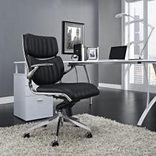 Escape Mid Back Office Chair in Black