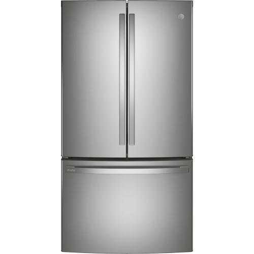 GE Profile 27.7 Cu. Ft. French-Door Refrigerator with Keurig® K-Cup® Brewing System Stainless Steel - PFE28PYNFS