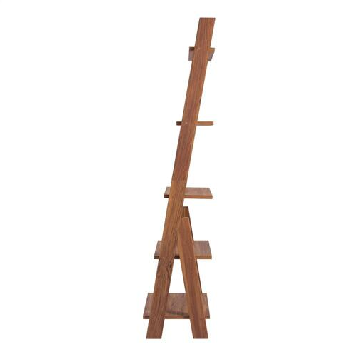 "Reeve 25"" KD Stair Shelf, Walnut (ASSEMBLY REQUIRED)"