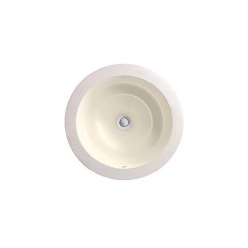 Dxv - Pop Petite Round Under Counter Bathroom Sink - Biscuit