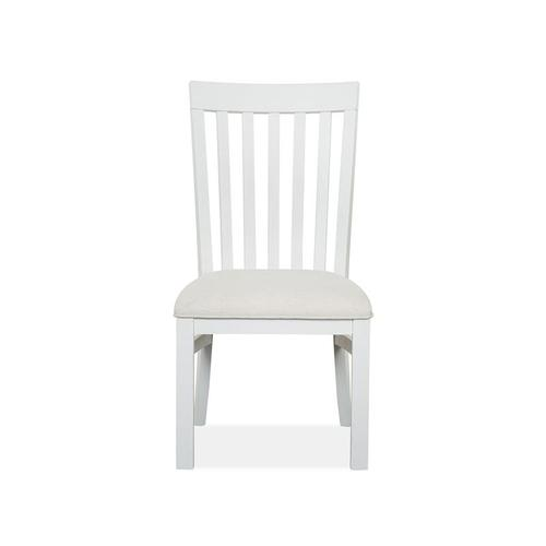 Magnussen Home - Dining Side Chair with Upholstered Seat (2/ctn)