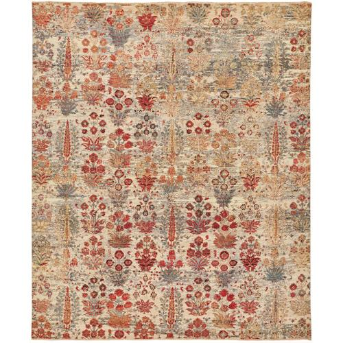 """SIENA 6586F IN RED/IVORY 8'-6"""" x 11'-6"""""""