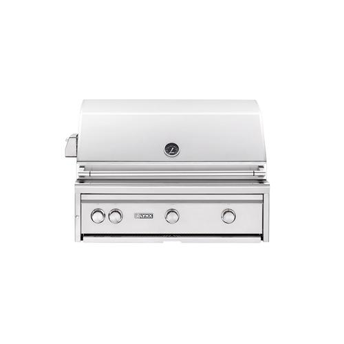"""36"""" Built-in Grill with Rotisserie (L36R-1) - Liquid propane"""