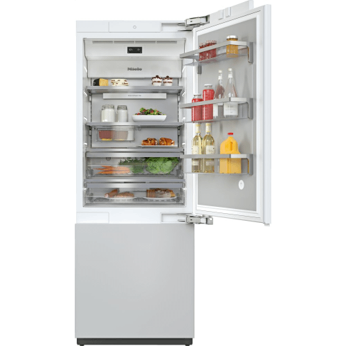KF 2802 Vi - MasterCool™ fridge-freezer with high-quality features and maximum storage space for exacting demands.