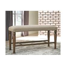 Lettner Extra Large UPH DRM Bench Gray/Brown