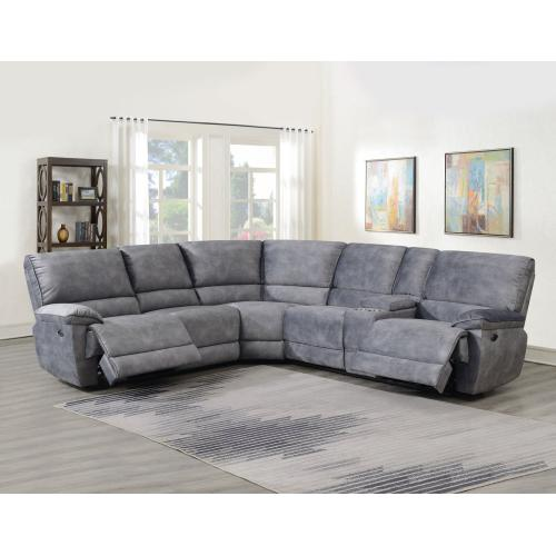 Simone 3-Piece Power Reclining Sectional