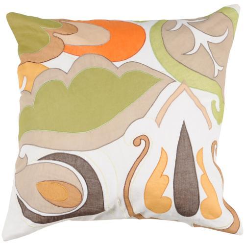 "Surya - Decorative Pillows P-0197 22""H x 22""W"
