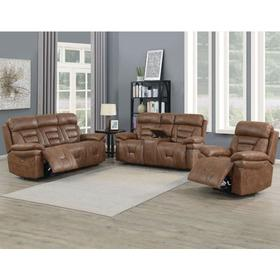 Brock 3 Piece Dual Power Motion Set (Sofa, Loveseat & Chair)