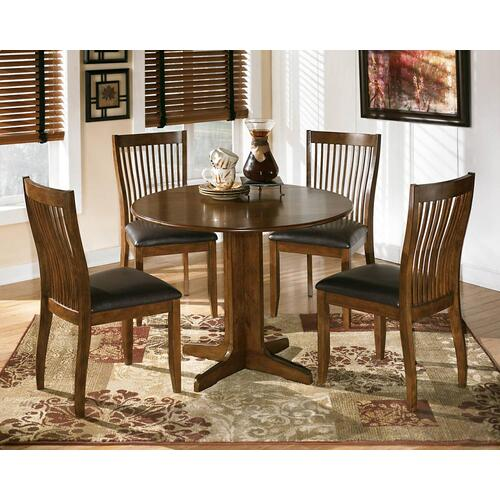 Round Drop Leaf Table w/ 2 Chairs