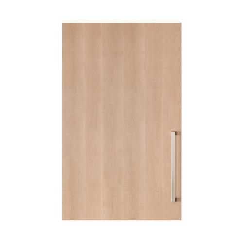 """Integrated Solid Panel Ready 30"""" Tall Wine Storage Door - Right Hinge"""