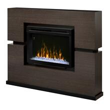 See Details - Linwood Mantel Electric Fireplace - PF Firebox