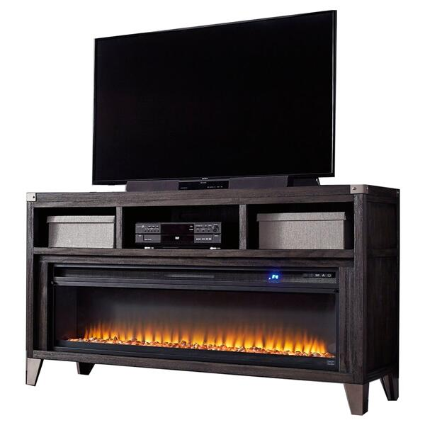 """See Details - Todoe 65"""" TV Stand With Electric Fireplace"""