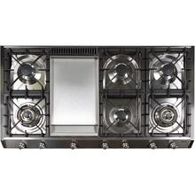 48 Inch Liquid Propane Cooktop in Stainless Steel