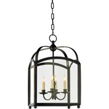 Visual Comfort CHC3421BZ E. F. Chapman Arch Top 4 Light 15 inch Bronze Foyer Pendant Ceiling Light