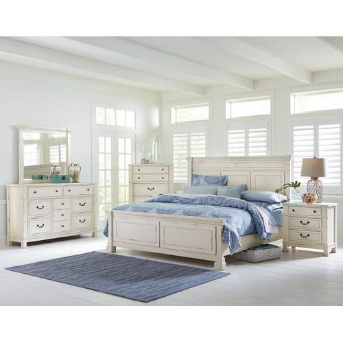 Chesapeake Bay 6-Drawer Dresser, Vintage White