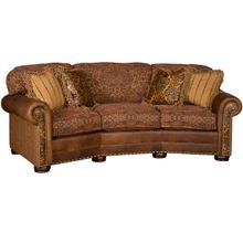Ricardo Leather/Fabric Conversation Sofa