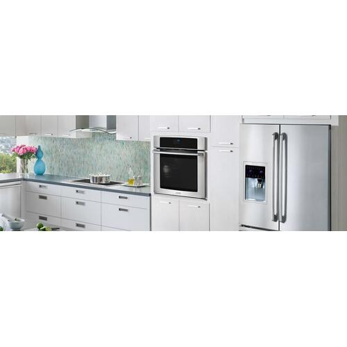 Electrolux - 27'' Electric Single Wall Oven with Wave-Touch® Controls