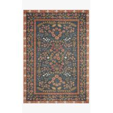 View Product - FIO-01 RP Florence Navy / Rust Rug