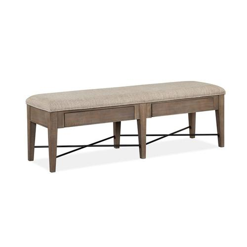 Magnussen Home - Bench w/Upholstered Seat