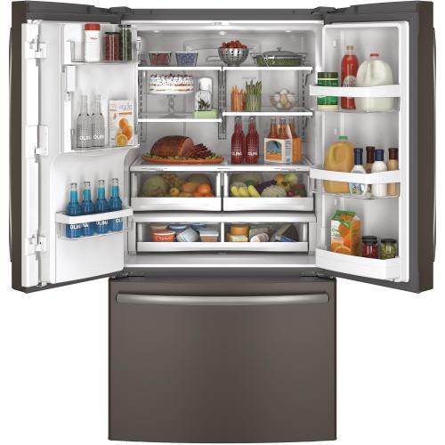 Gallery - GE® ENERGY STAR® 25.7 Cu. Ft. French-Door Refrigerator