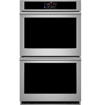"""Monogram 30"""" Smart Electric Convection Double Wall Oven Statement Collection"""