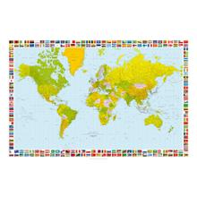 See Details - Map of the World - Giant Art