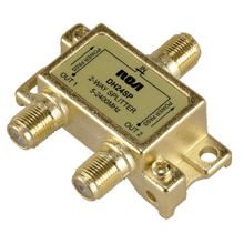 Digital Plus 2.4GHz bi directional 2 way splitter