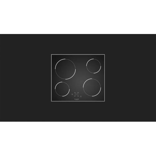 """24"""" Black Ceran Radiant - Black Glass"""