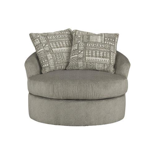 Soletren Swivel Accent Chair Ash