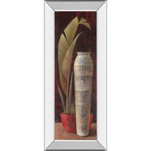 """Banana Leaf Il"" Mirror Framed Print Wall Art"