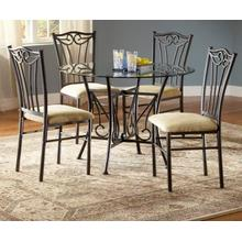 See Details - Heritage Glass Casual Dining Table