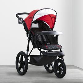 Jeep® Classic Jogging Stroller - Classic Red (2018)