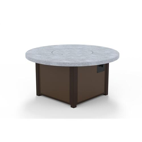 "Elements Top Fire Tables 48"" Round Elements Top Fire Table"