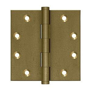 """Deltana - 4-1/2"""" x 4-1/2"""" Square Hinges"""