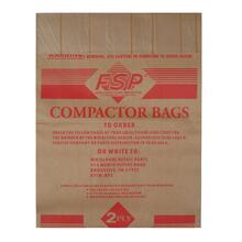 """15"""" Paper Compactor Bags - 48 Count"""
