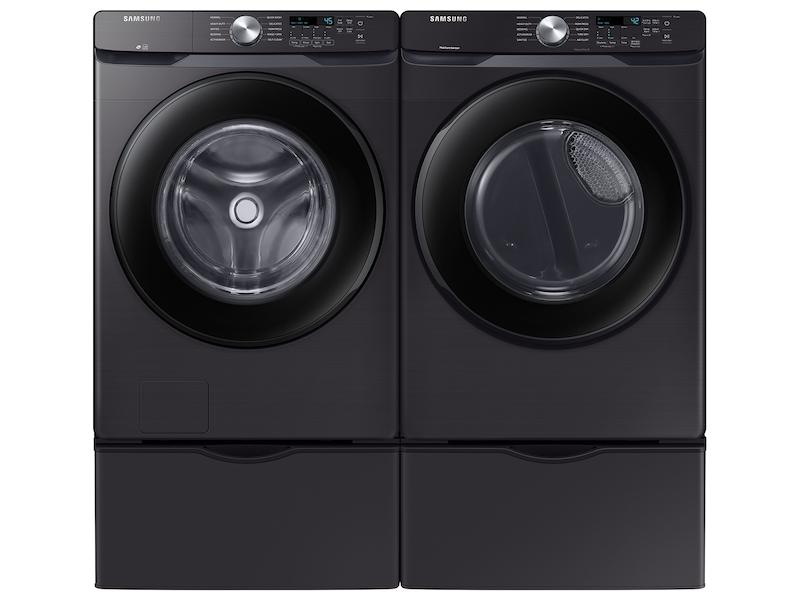 4.5 cu. ft. Front Load Washer with Vibration Reduction Technology+ in Black Stainless Steel Photo #5