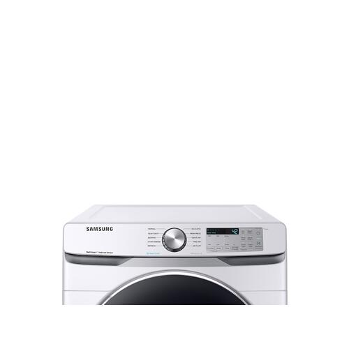 7.5 cu. ft. Gas Dryer with Steam Sanitize+ in White
