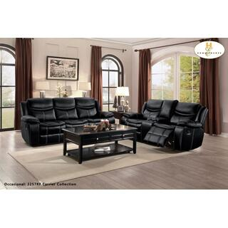 See Details - Bastrop Reclining Loveseat w/ Center Console