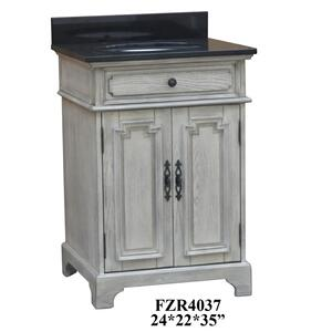 "Isabelle 2 Door 24"" Vanity Sink Product Image"