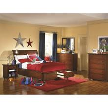 Full Sleigh Bed with Storage