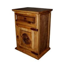 Economy 1 Drawer 1 Door Night Stand