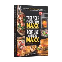 "Kalorik ""Take Your Cooking to the MAXX"" 60 Recipe Hardcover Cookbook"