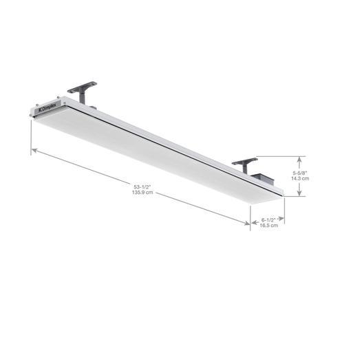 Dimplex - Dimplex DLW Series Outdoor/Indoor Radiant Heater, White