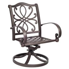See Details - Holland Swivel Rocking Dining Chair